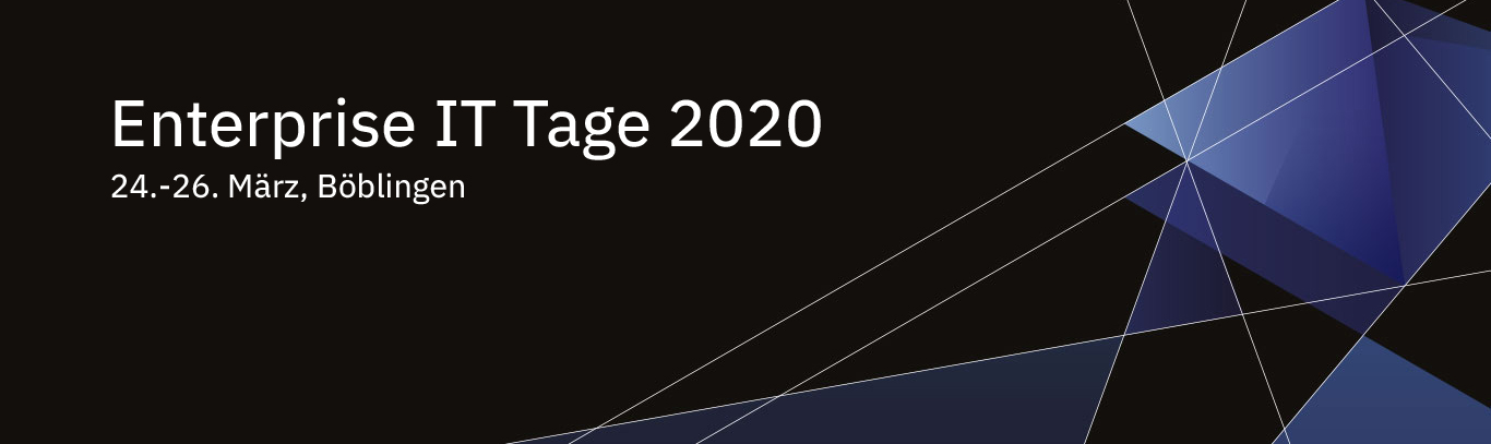 IBM Enterprise IT Tage 2020